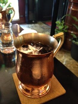 カフェド巴里  アイスコーヒー