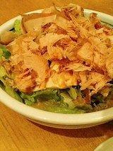 パスタリッチ 豆腐とレタスのサラダ(500円)
