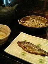 虹鱒の甘露煮(350円)