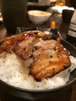 ひなどり 鶏丼