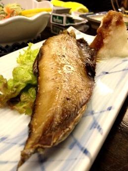 黒百合 岩魚塩焼