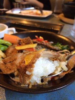 ビーフヤヒロ丼 (4)