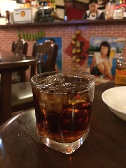 田舎菜館 紹興酒ロック