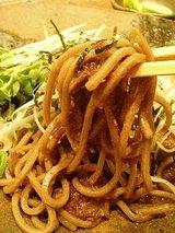 ハンバーグラボ 牛スジの黒焼そば(780円)2