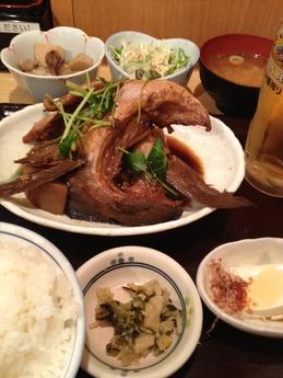 まるとく食堂 鰤大根 980円