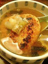 焼きおにスープ