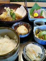 阿羅喜 お昼の定食(1000円)