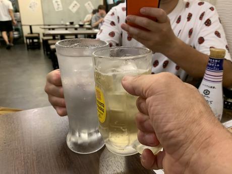鉄板酒場7月 (2)