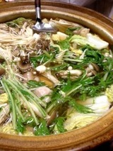 関西 地鶏鍋