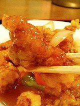 紅葉園 酢豚定食(780円)