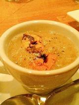 さかもと ブラウンマッシュルームとフォアグラのスープ