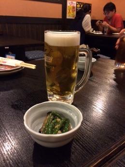 博多一番どり八代 ビール