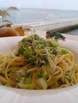 しらすと野菜のアーリオオーリオ