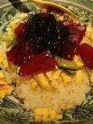 マグロのチラシ寿司