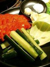 フレッシュ野菜盛(580円)