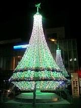 プレデンシャルタワーのツリー(緑)