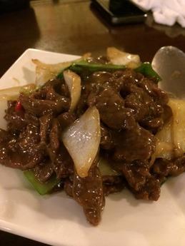 田舎菜館 肉炒め