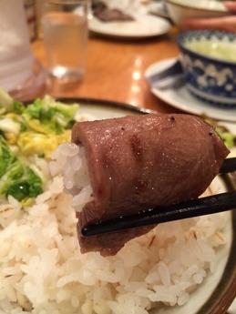 喜助 牛タンランチ (1)