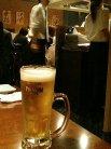 神戸イベリコ屋 生ビール