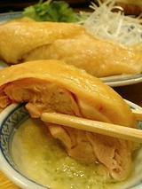 杏杏 鳥のボイル(800円)