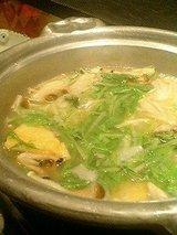 つくね屋本舗 白湯美人鍋 1800円