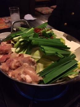一番鶏 もつ鍋 (1)