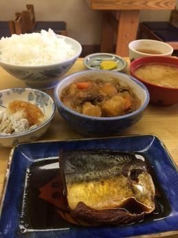 ふじもと 鯖とおかず (1)