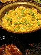 土鍋炊き 季節 和のごはん(800円)