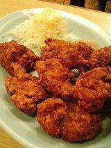 建味園 肉の天ぷら(760円)