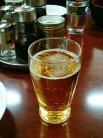 やっぱビールでしょ普通。
