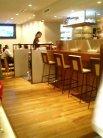 Flat cafe カウンター席