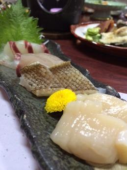 西飾磨どい寿し 刺身 (1)