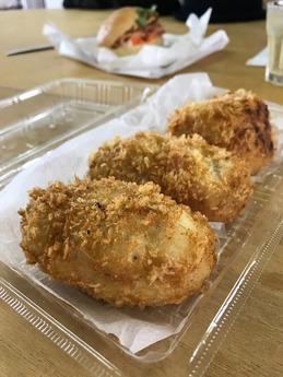 京町のコロッケ弁当 (2)