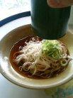 四季亭 落とし素麺