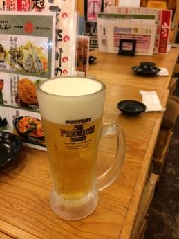串かつ山ちゃん ビール