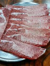 国産黒毛和牛 塩タン(800円)