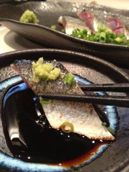 鉄なべ もり家  秋刀魚炙り
