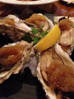 シンバル 岩牡蠣の昆布焼