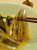 きびなご辛子酢味噌