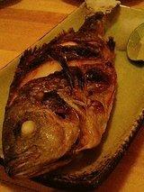 イサキ塩焼き(900円)