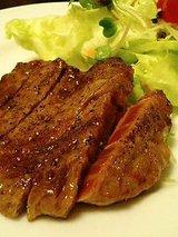 和牛ロース生姜焼(900円)