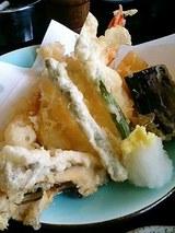 海老と帆立、野菜の天ぷら