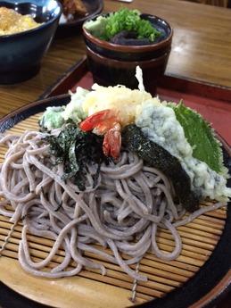 丸万本店 天ざる (1)