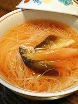 平宗 鮎煮麺(600円)