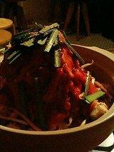 山賊 ホルモン鍋(1050円)