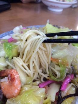 大空食堂 皿うどん (2)