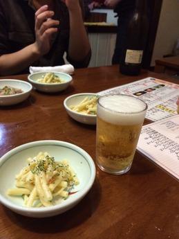 居酒屋瀬戸 ビール