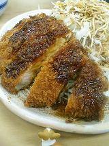 とんかつ+キャベツ+シジミ汁+ご飯=とんかつ定食700円