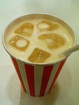 名物のミルク!美味いんですこれ!
