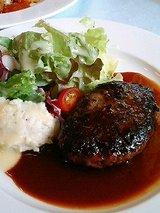 洋食Meets 黒毛和牛粗挽きハンバーグステーキ